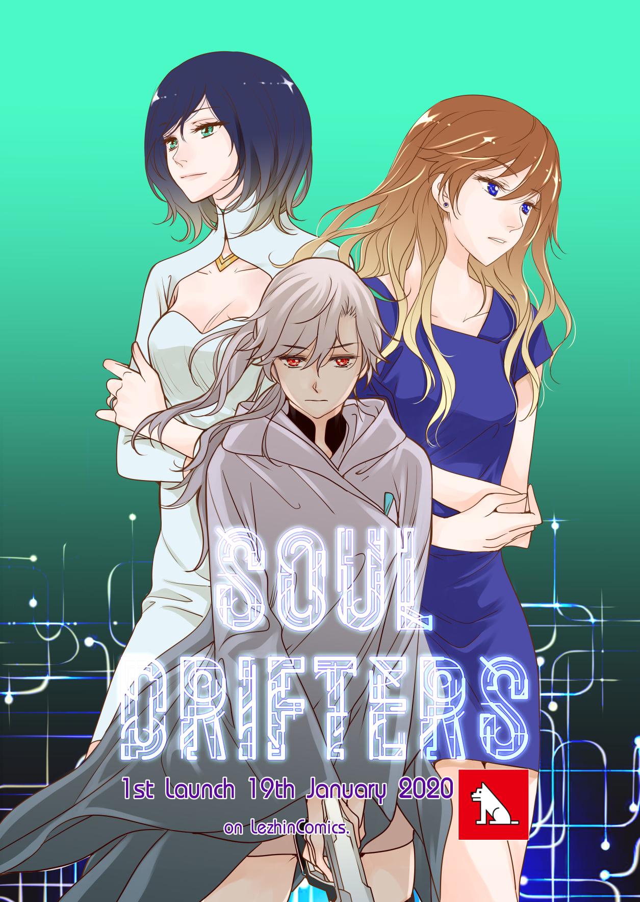 New Gl Webtoon Series Soul Drifters By Ratana Satis To Debut On